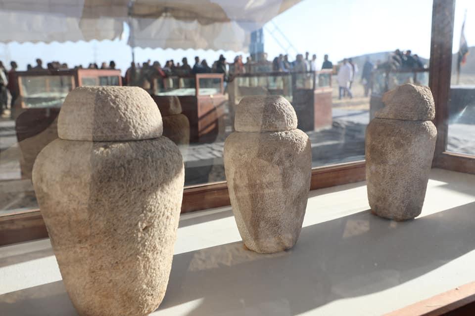 أول كشف أثري لعام 2020 بمنطقة تونا الجبل في المنيا في مصر