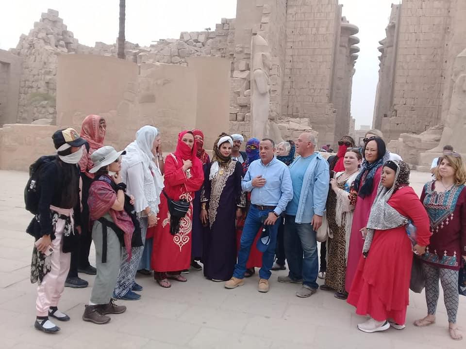 لم تتأثر بفيروس كورونا..مزارات مصر الأثرية تستمر في استقطاب السياح