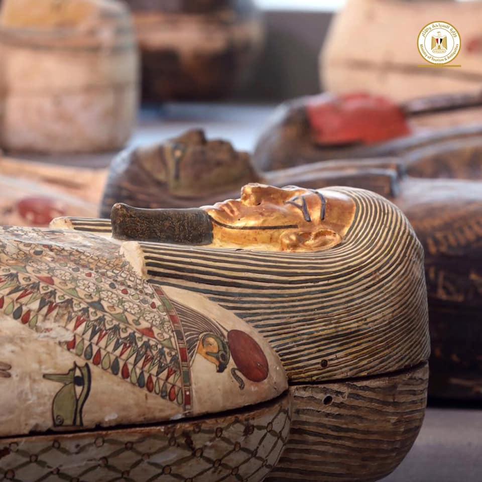 أكبر كشف أثري في مصر لعام 2020