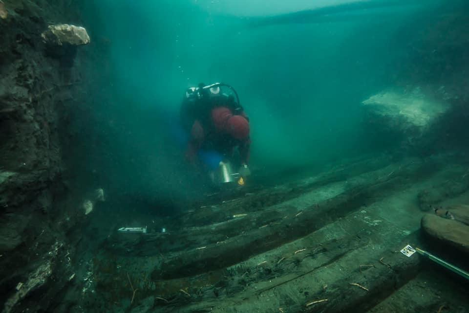 اكتشاف حطام سفينة حربية تعود للعصر البطلمي بالمدينة الغارقة في مصر