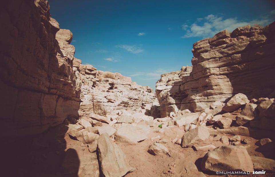وادي ماوان في السعودية