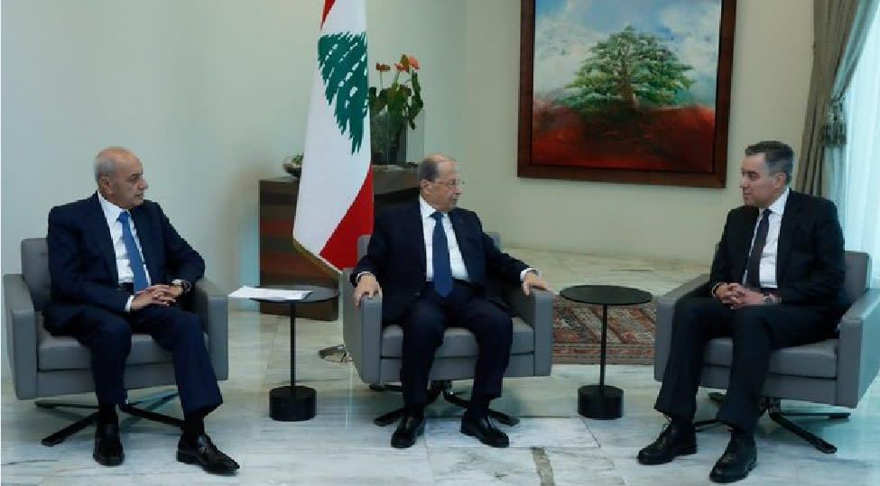 الرئيس اللبناني ميشال عون يكلف مصطفى أديب بتشكيل الحكومة الجديدة