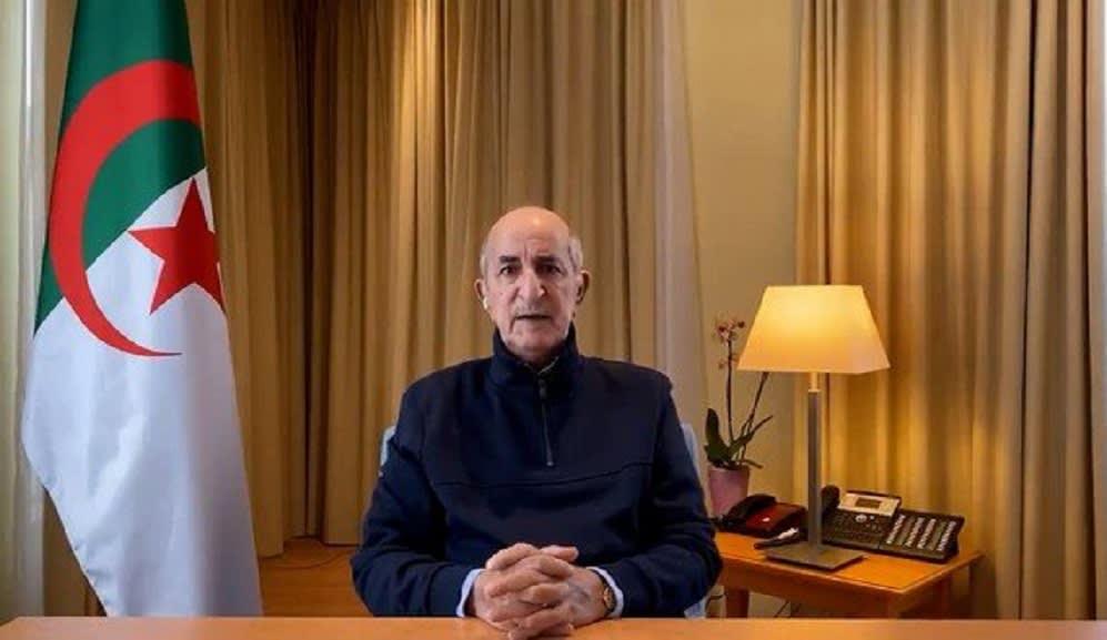 ظهور الرئيس الجزائري.. تبون يقطع حالة الغموض حول وضعه الصحي
