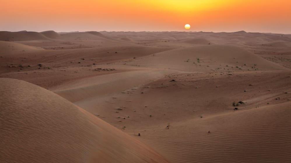 بحر خورفكان في الشارقة - الإمارات