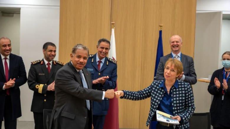 قطر توقع اتفاقا لفتح مكتب تمثيل عسكري في مقر الناتو للمشاركة في أنشطة الحلف