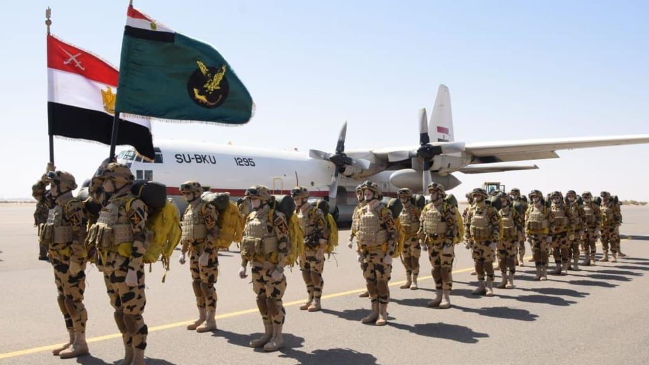 تدريب جوي مصري – سوداني تزامنا مع تحذيرات السيسي لإثيوبيا