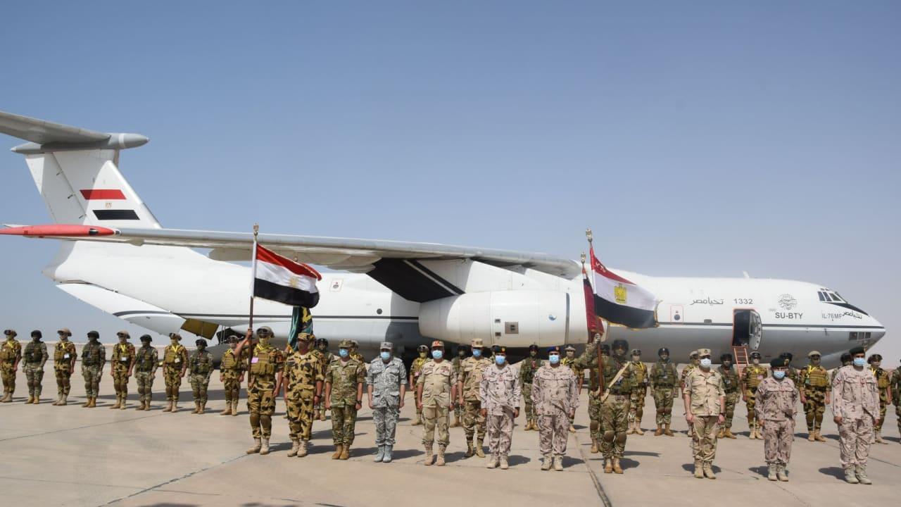 """انطلاق تمرين """"زايد 3"""" العسكري بين الإمارات ومصر"""