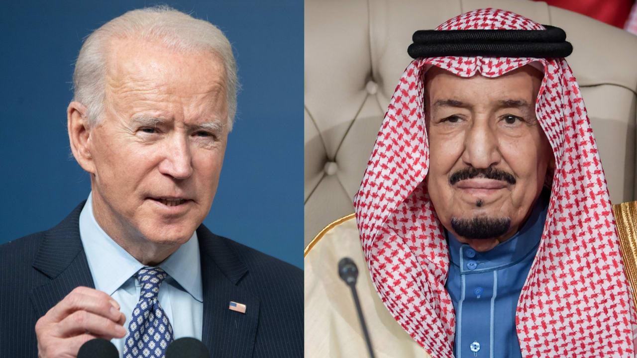 """لم يتطرقا إلى خاشقجي.. """"واس"""" والبيت الأبيض يكشفان تفاصيل اتصال العاهل السعودي وبايدن"""
