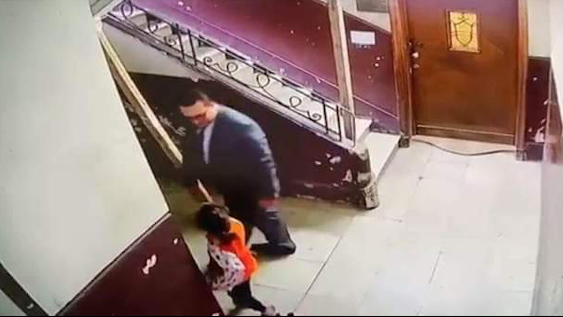 كاميرا مراقبة ترصد لحظة تحرش رجل بطفلة صغيرة يثير صدمة في مصر.. واحتفاء ببطولة سيدة تصدت له