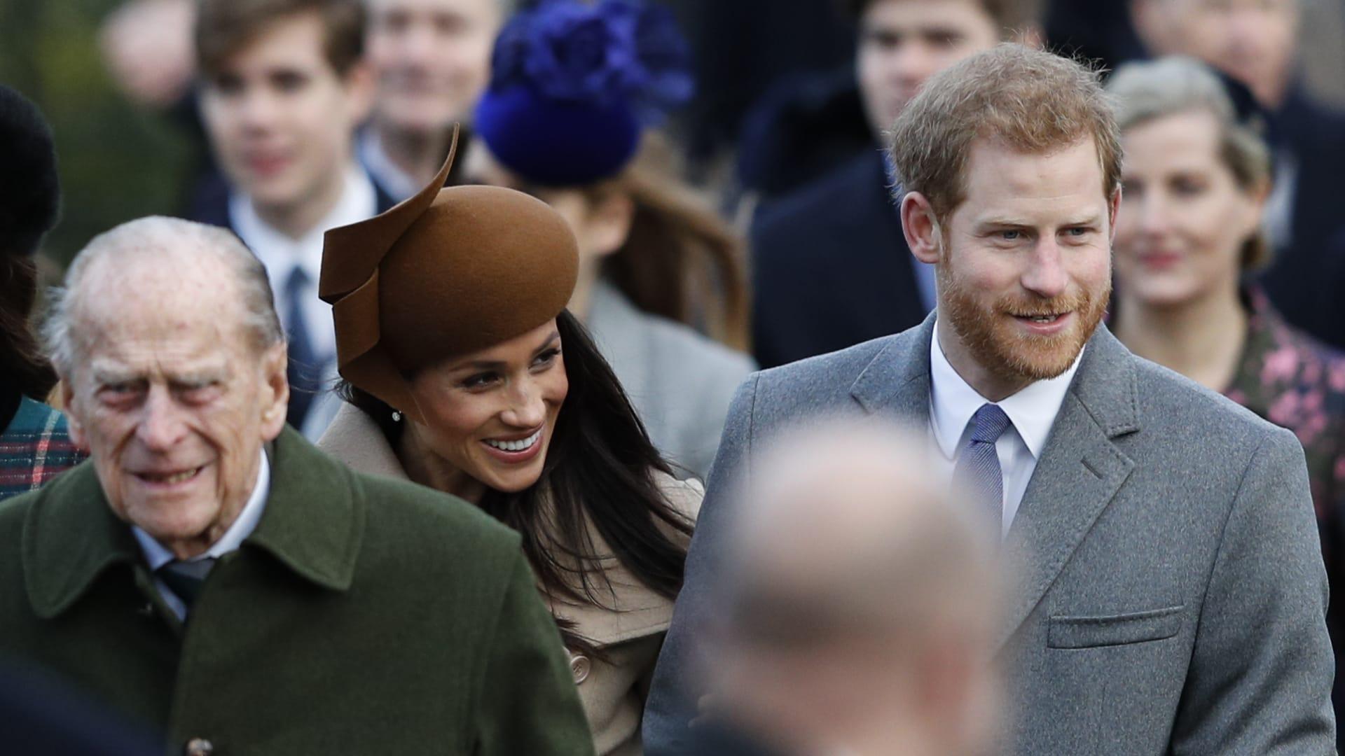 أول تعليق من الأمير هاري وميغان ماركل على وفاة الأمير فيليب