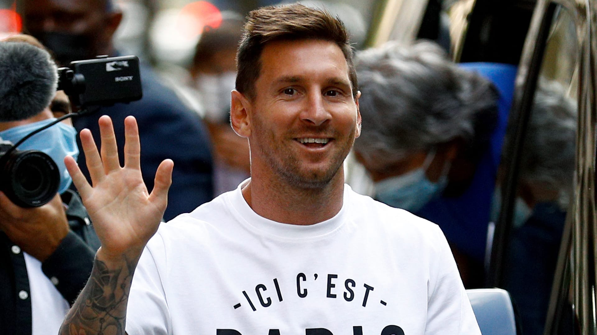 """ميسي لـCNN: باريس سان جيرمان """"المكان المثالي"""" للفوز بـ""""أبطال أوروبا"""" مرة أخرى"""