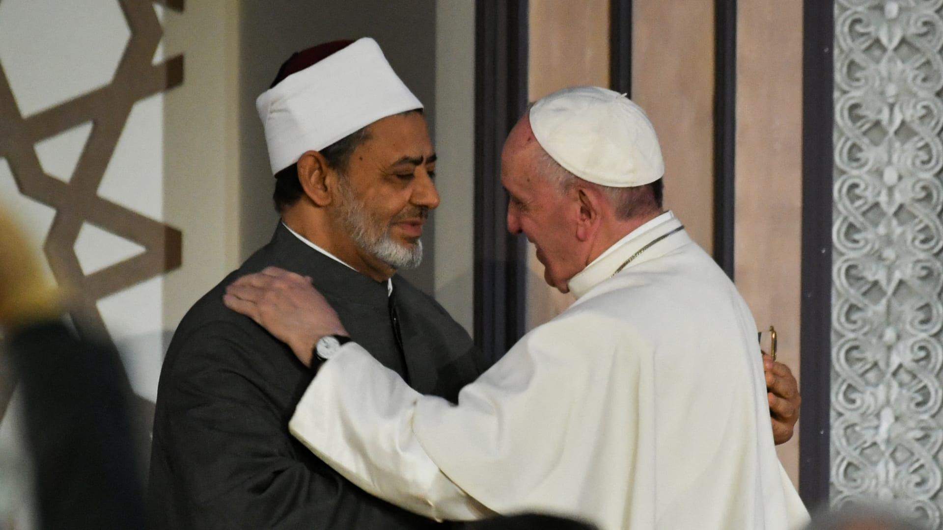 شيخ الأزهر بأول حوار مع إذاعة الفاتيكان: رسالة البابا فرنسيس مهمة للمسلمين ولغيرهم thumbnail