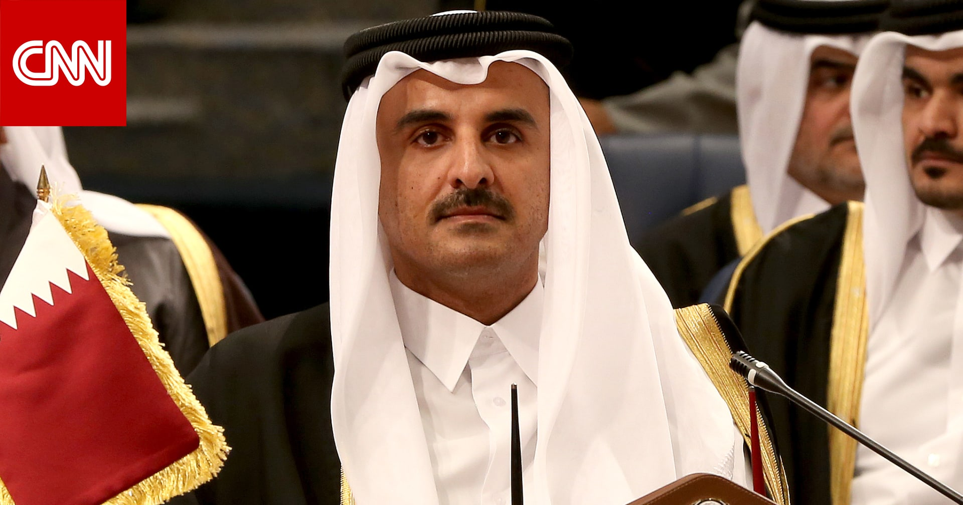 أمير قطر يعين بندر العطية سفيرًا فوق العادة لدى السعودية لأول مرة منذ 2017