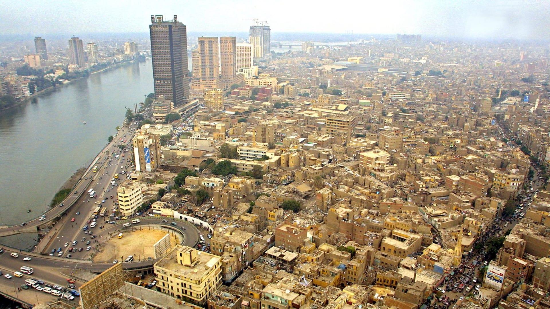 صورة أرشيفية من العاصمة المصرية القاهرة