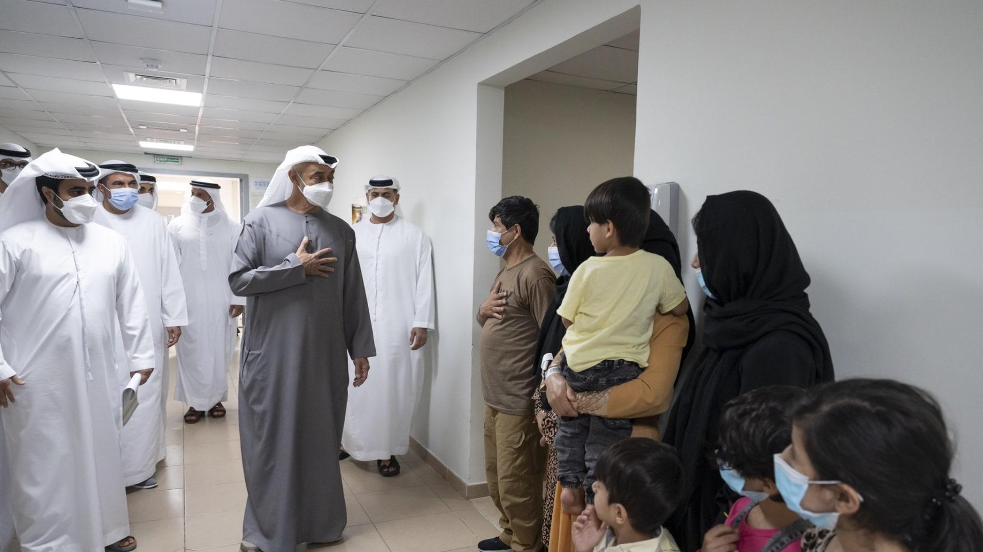 ولي عهد أبوظبي نائب القائد الأعلى للقوات المسلحة الإماراتية، الشيخ محمد بن زايد