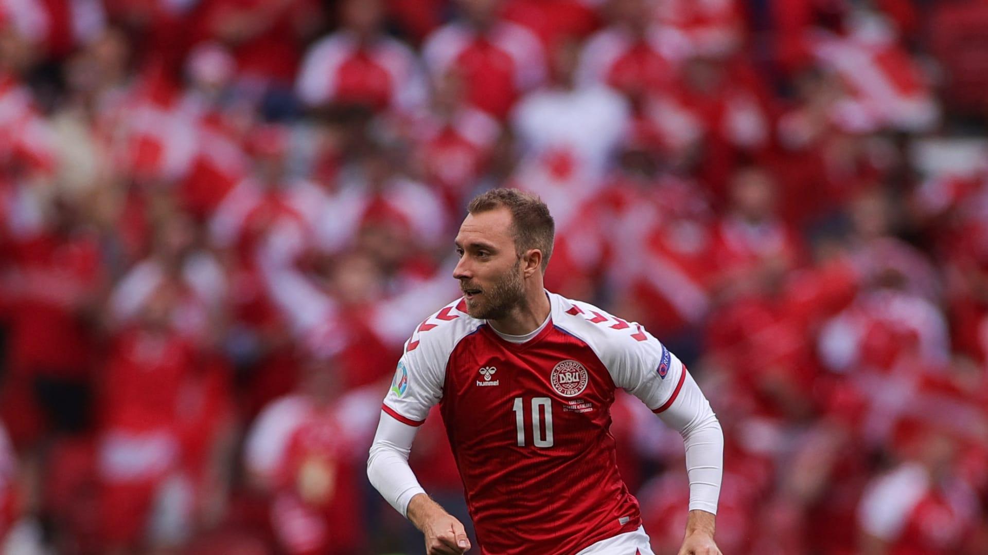 لاعب المنتخب الدنماركي كريستيان إريكسن