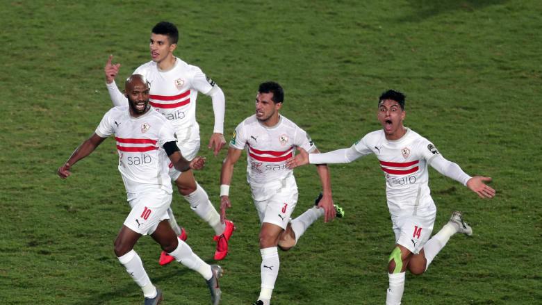 الزمالك يودع دوري أبطال إفريقيا رُغم فوزه بأربعة أهداف على تونغيت السنغالي
