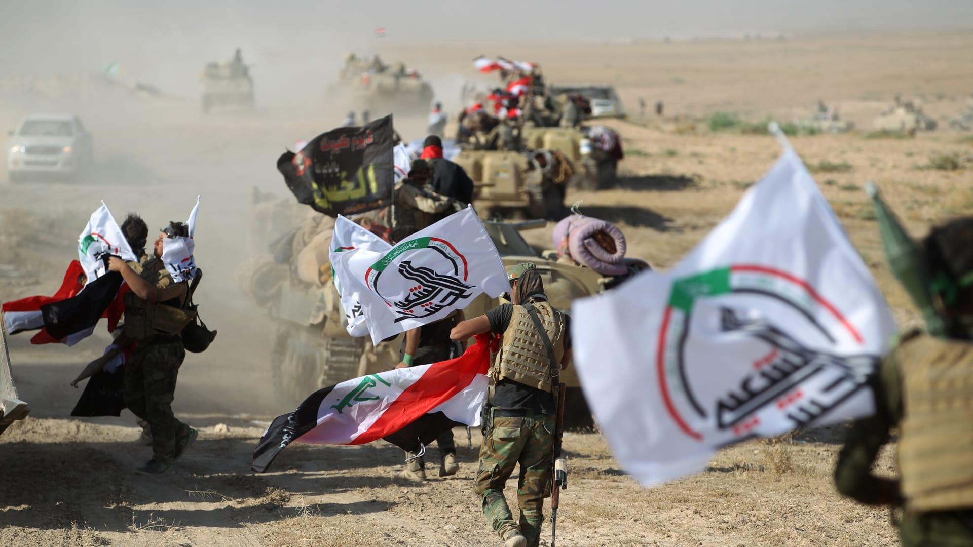 """""""إرهابي عالمي"""".. الخارجية الأمريكية تصنف مسؤولاً كبيراً بالحشد الشعبي العراقي"""