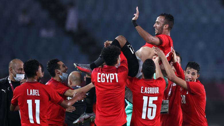 مصر تقصي الأرجنتين من منافسات الكرة بطوكيو وتضرب موعدا مع البرازيل