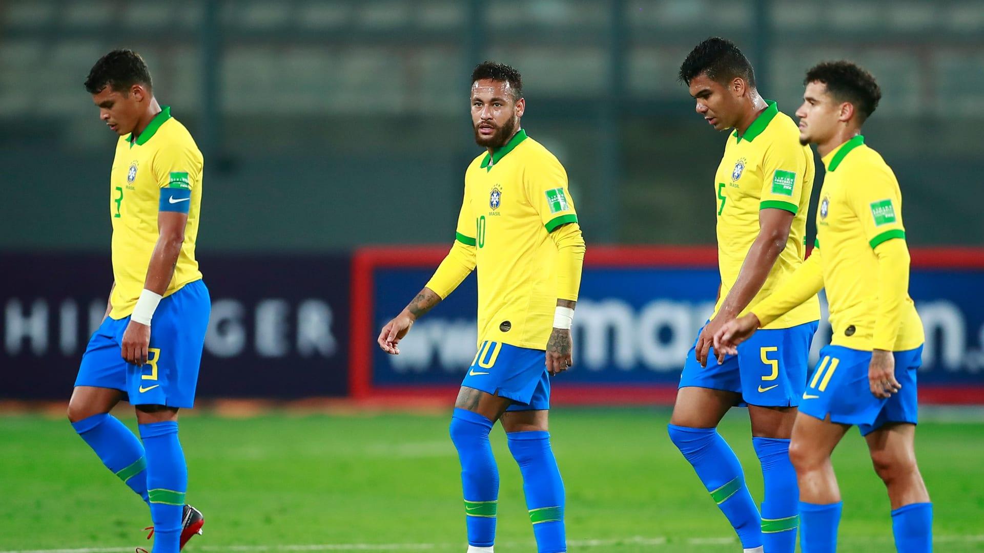 لاعبو منتخب البرازيل