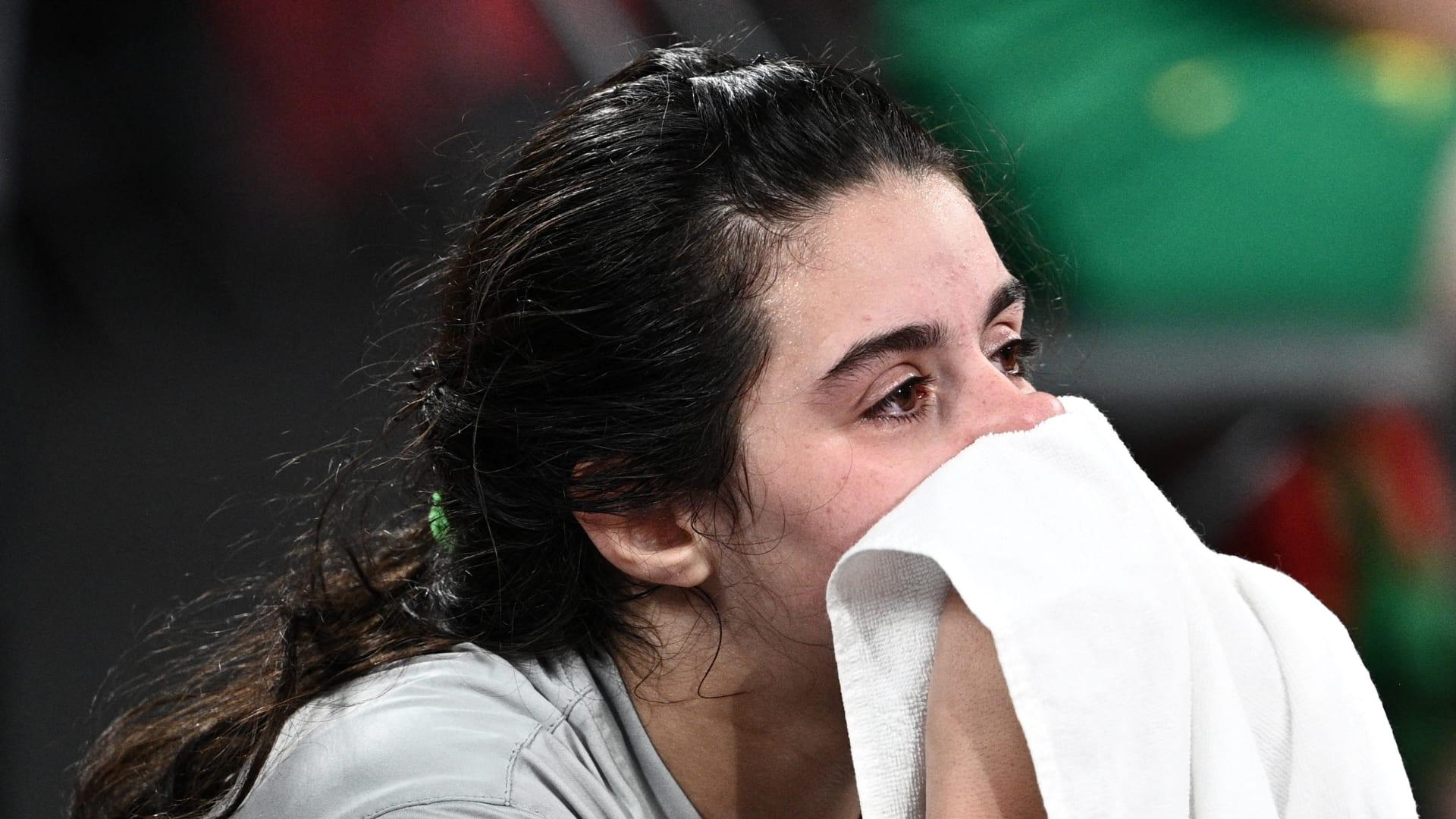 لاعبة تنس الطاولة السورية هند ظاظا