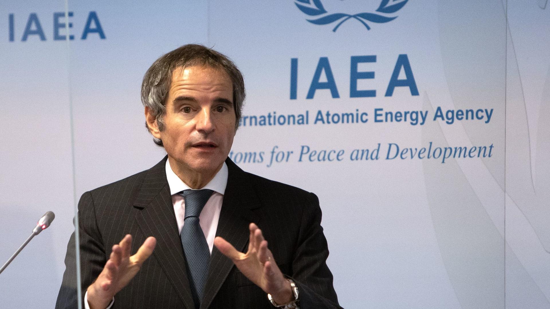 رافائيل غروسي، المدير العام للوكالة الدولية للطاقة الذرية