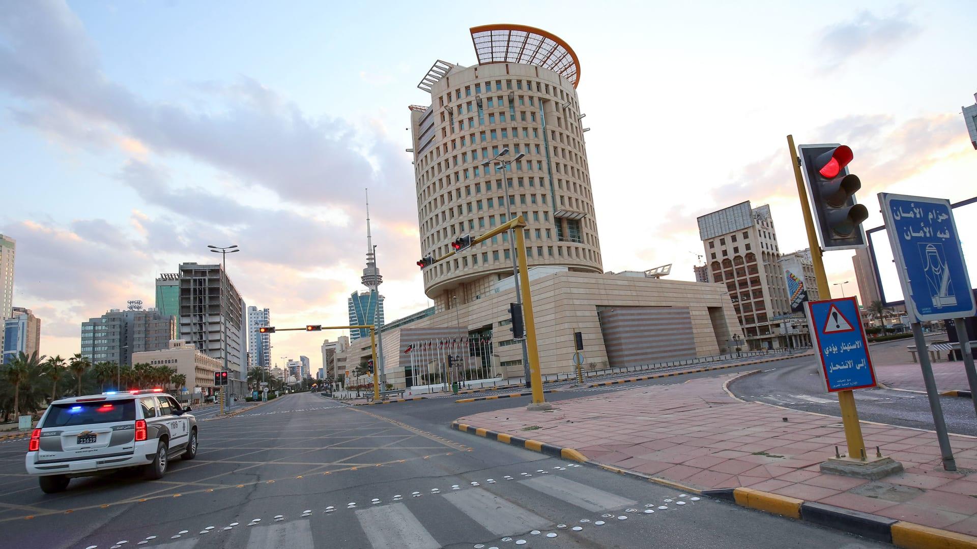 صورة ارشيفية تعبيرية لسيارة شرطة في الكويت