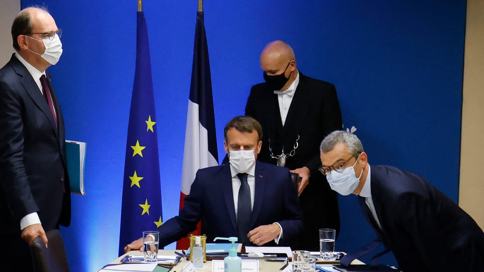 د الرئيس الفرنسي إيمانويل ماكرون