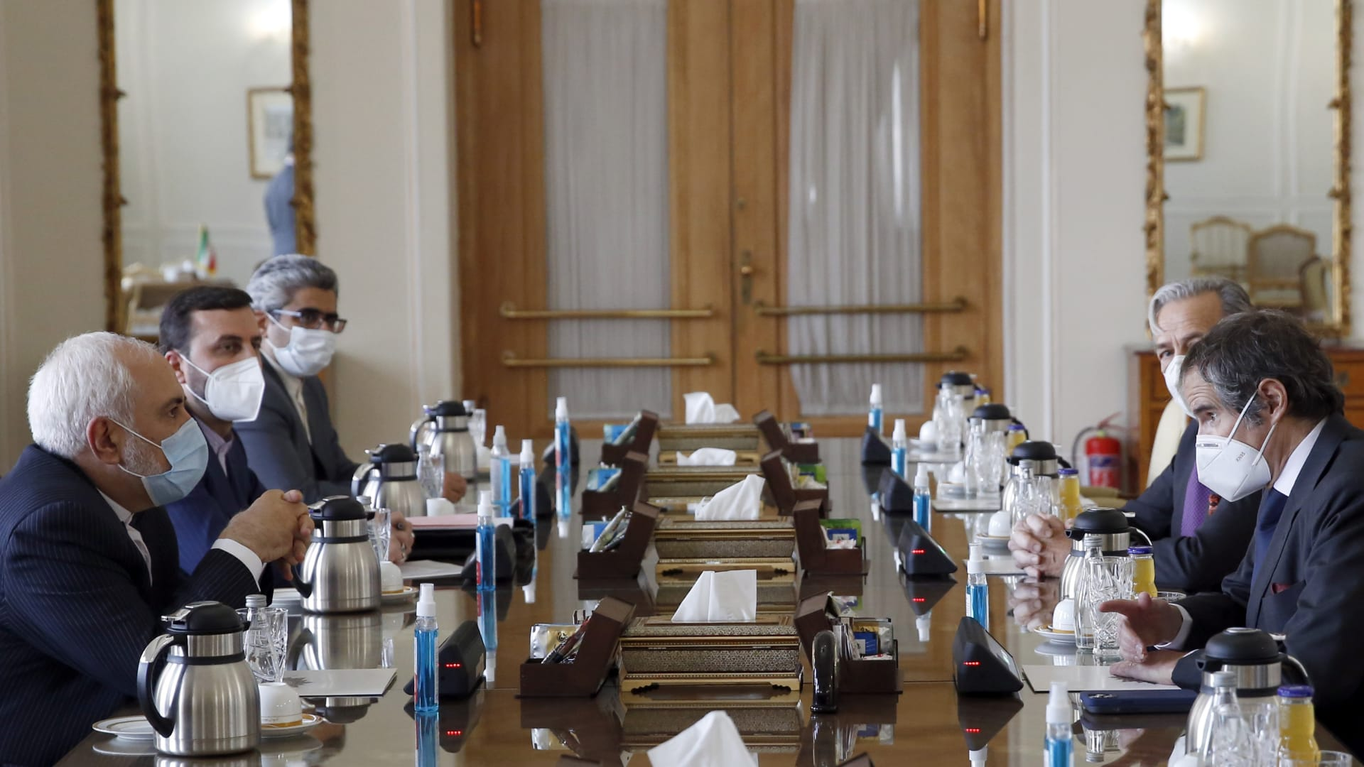 مدير وكالة الطاقة الذرية: التوصل لاتفاق مع إيران لتسمح بمواصلة أنشطة التفتيش 3 أشهر
