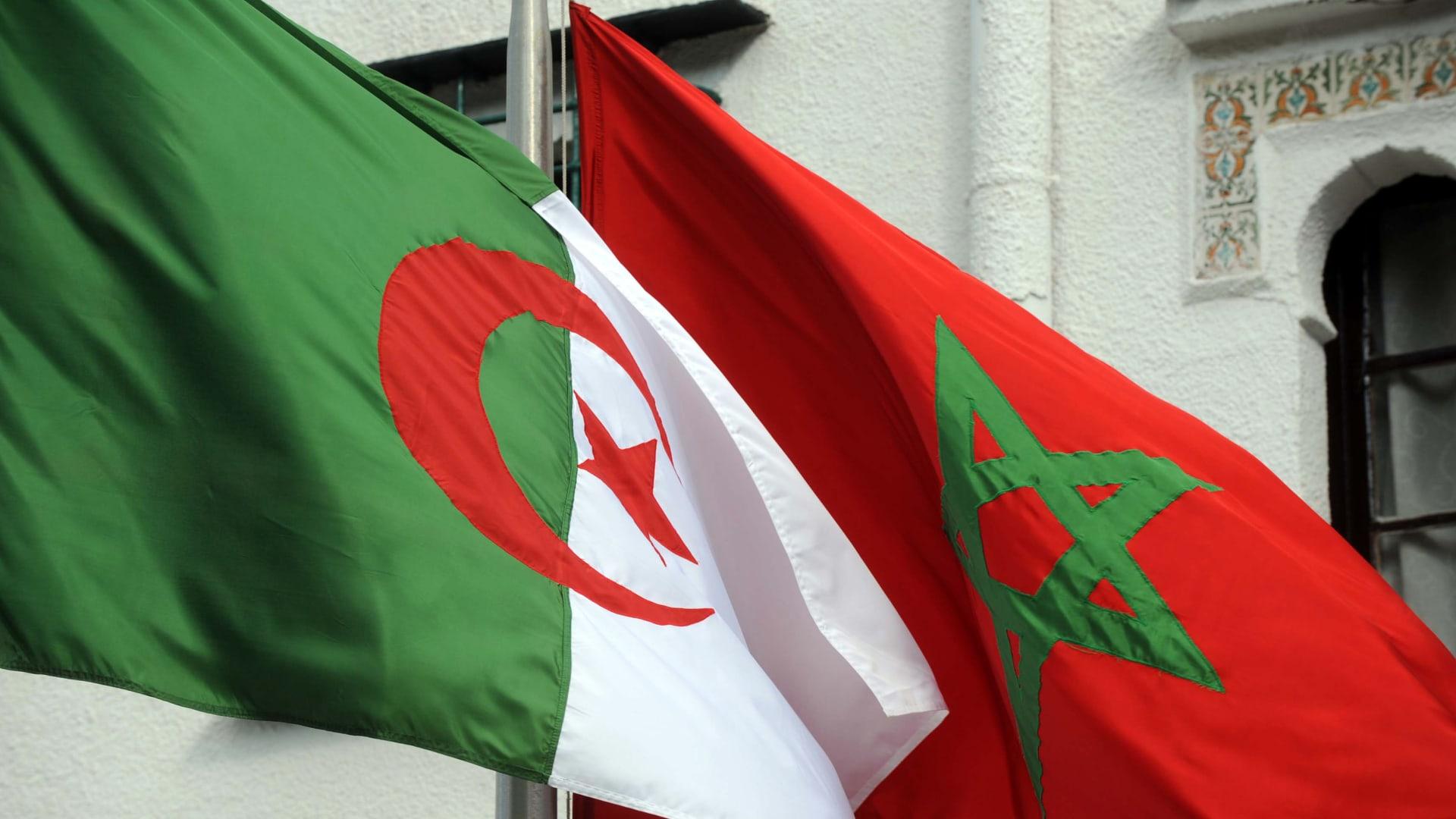 علم الجزائر والمغرب