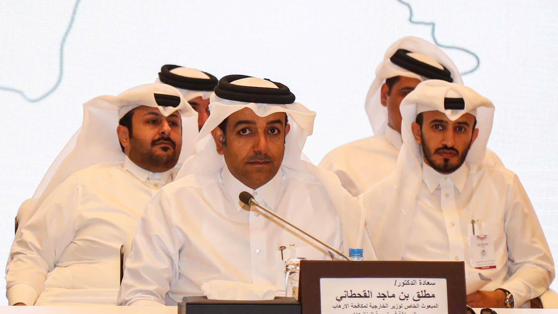 المبعوث القطري الخاص لحل النزاعات ومكافحة الإرهاب، مطلق القحطاني