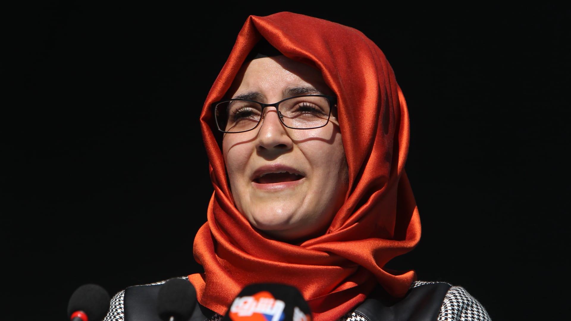أول تعليق من خديجة جنكيز لـCNN بعد نشر تقرير خاشقجي.. ماذا قالت؟