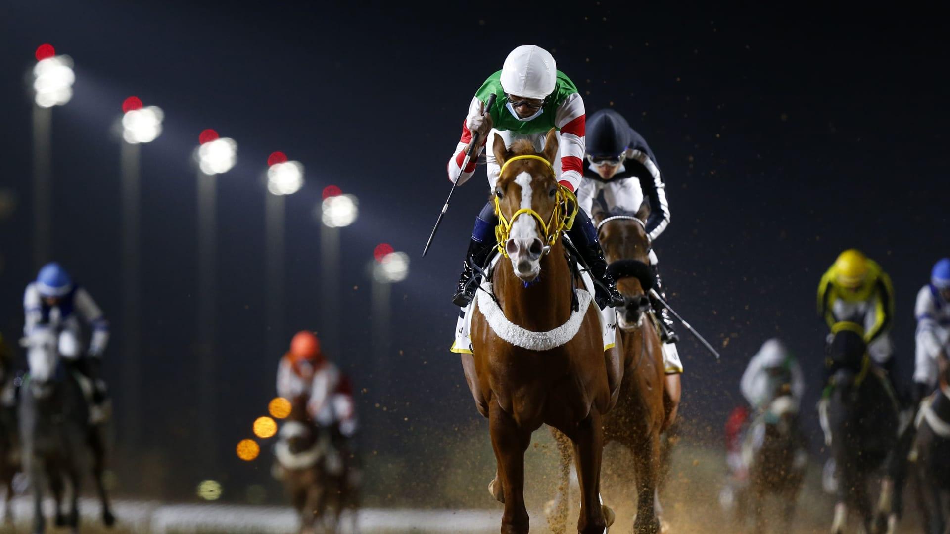ولي العهد السعودي يتوج الفائز بكأس السعودية الأغلى في تاريخ السباقات الخيل