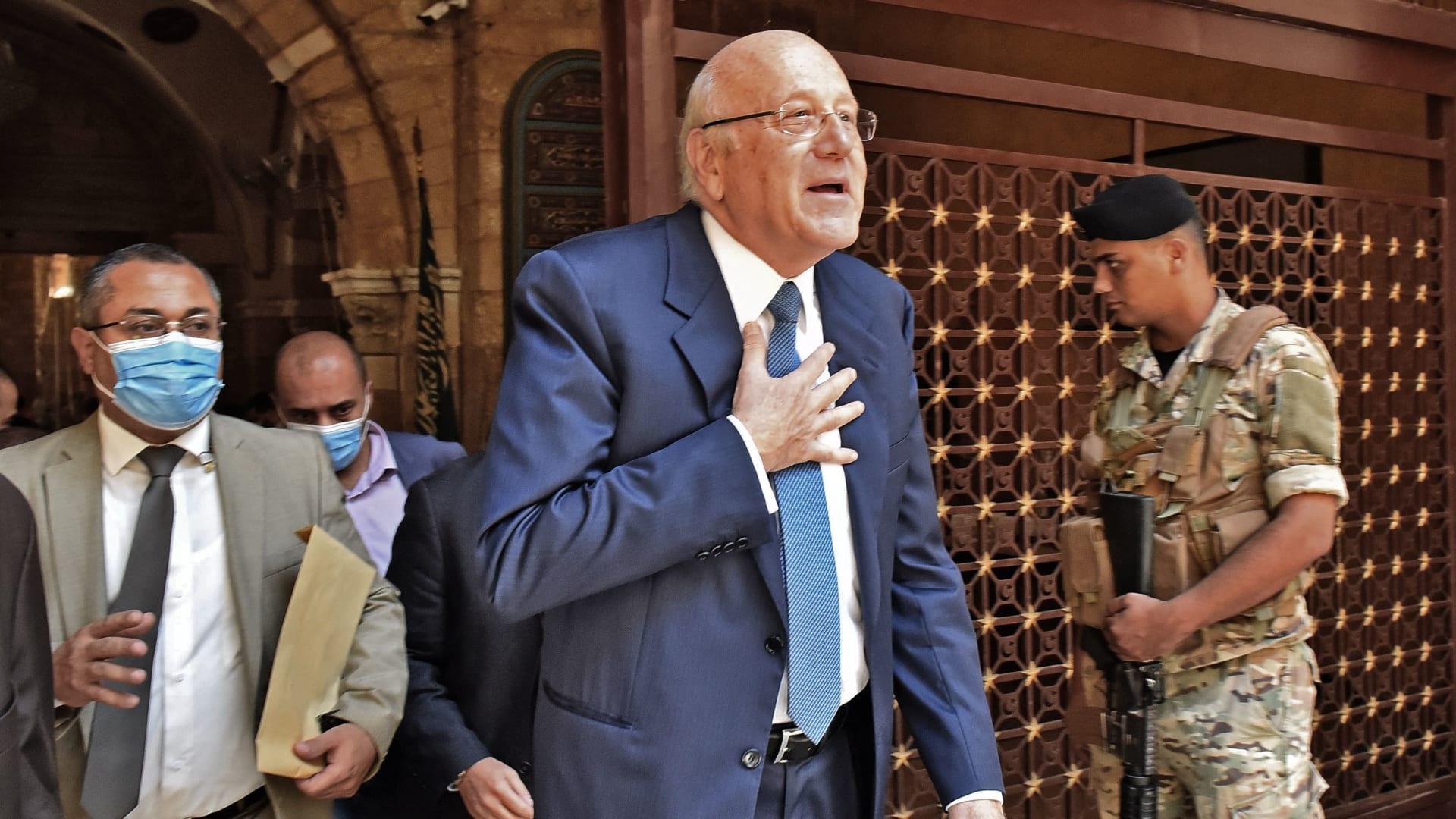 رئيس الوزراء اللبناني الجديد، نجيب ميقاتي