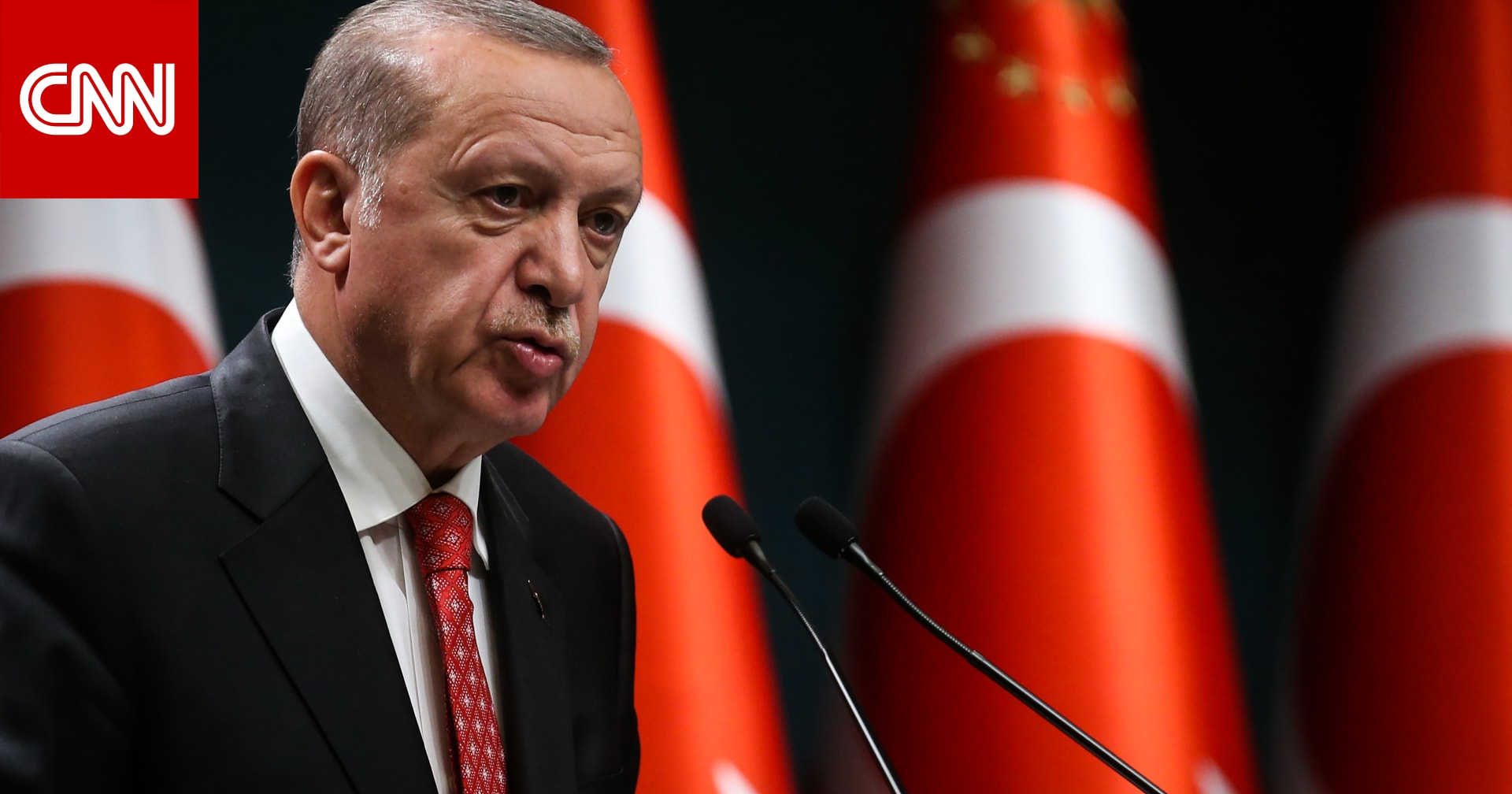 """أردوغان يسعى لاعتراف دولي بـ""""قبرص التركية"""".. ومقاتلاته تستعرض"""