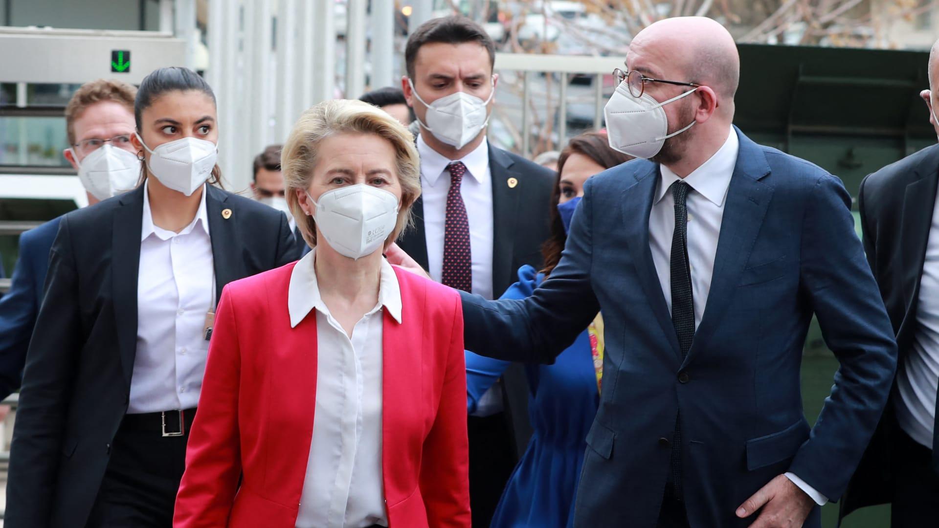 تركيا تعلق على الموقف المحرج لرئيسة المفوضية الأوروبية خلال تواجد أردوغان