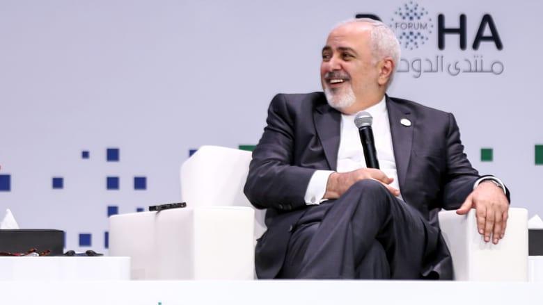 ظريف يرحب بدعوة قطر لقعد قمة بين دول مجلس التعاون الخليجي وإيران