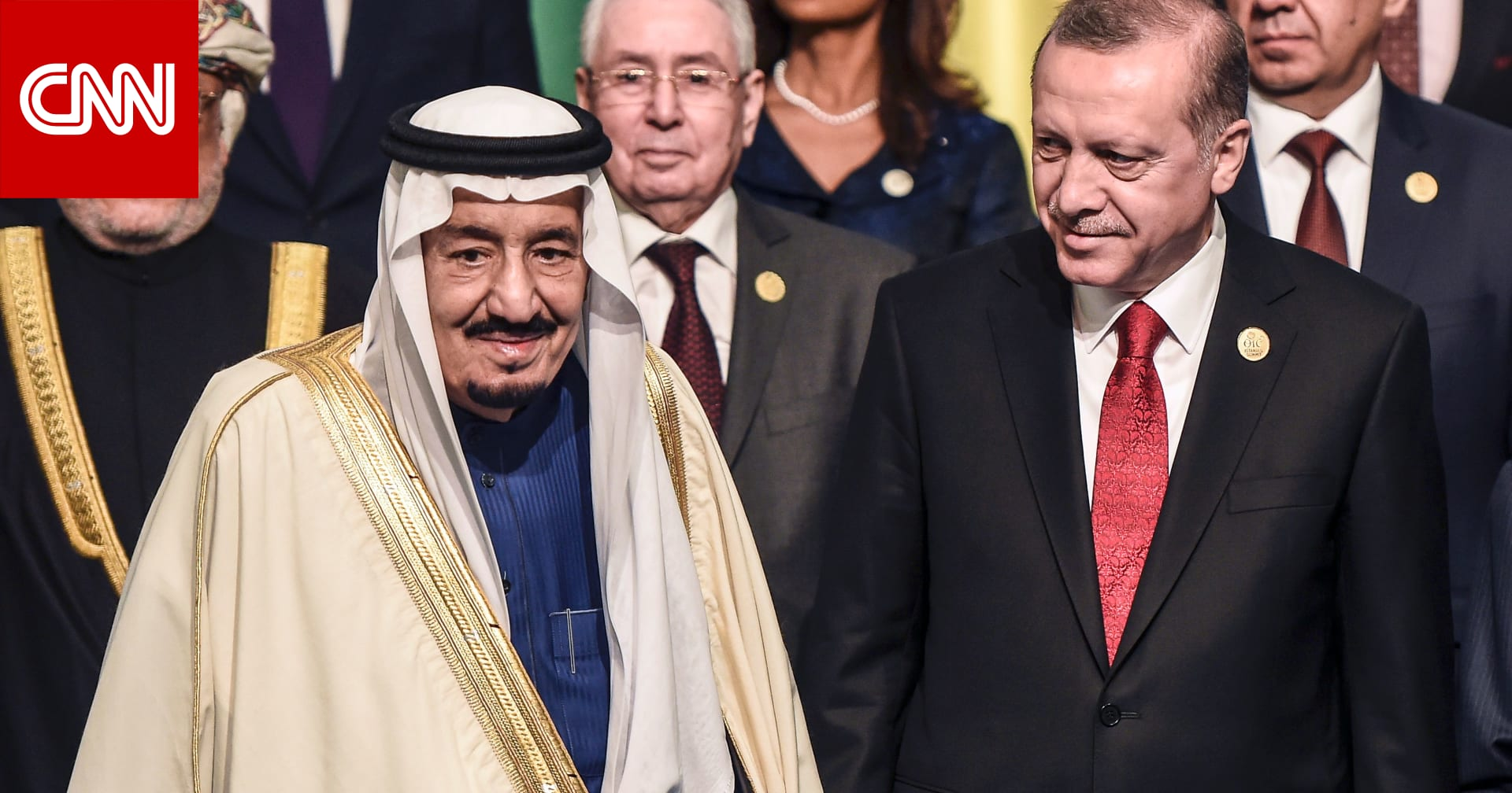 أردوغان يجري اتصالا هاتفيًا مع العاهل السعودي لتهنئته بشهر رمضان