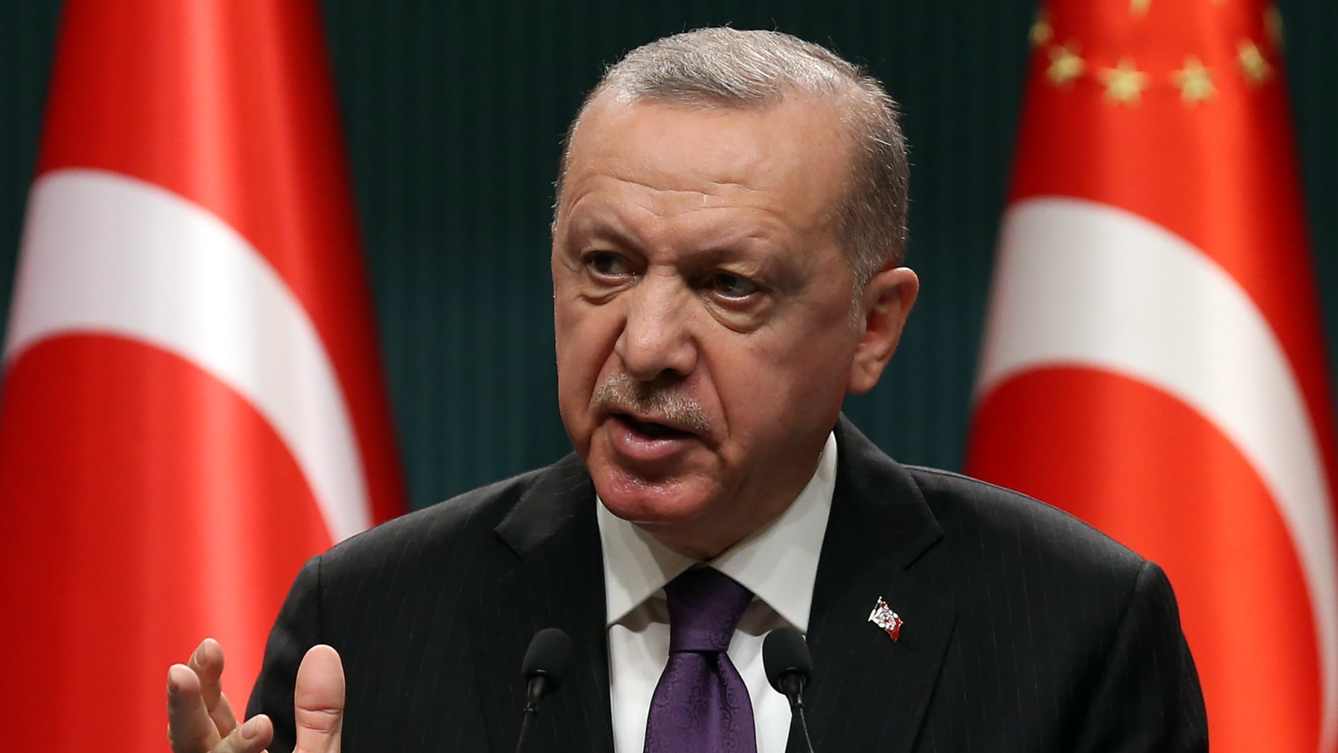 الرئيس التركي، رجب طيب أردوغان