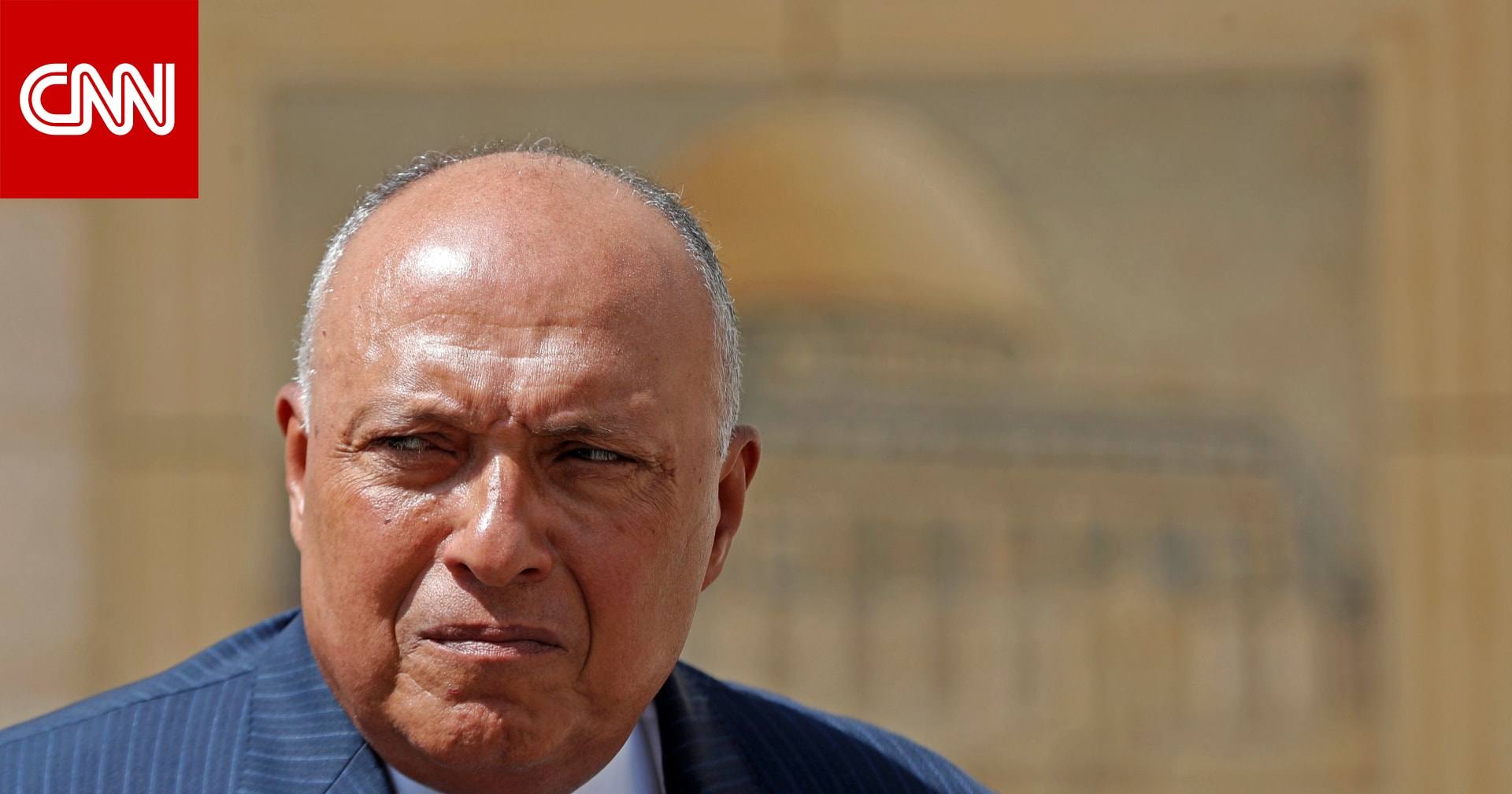 """خارجية مصر: إسرائيل أكدت حرصها على """"الحفاظ على الهدوء"""" بعد وقف إطلاق النار في غزة"""