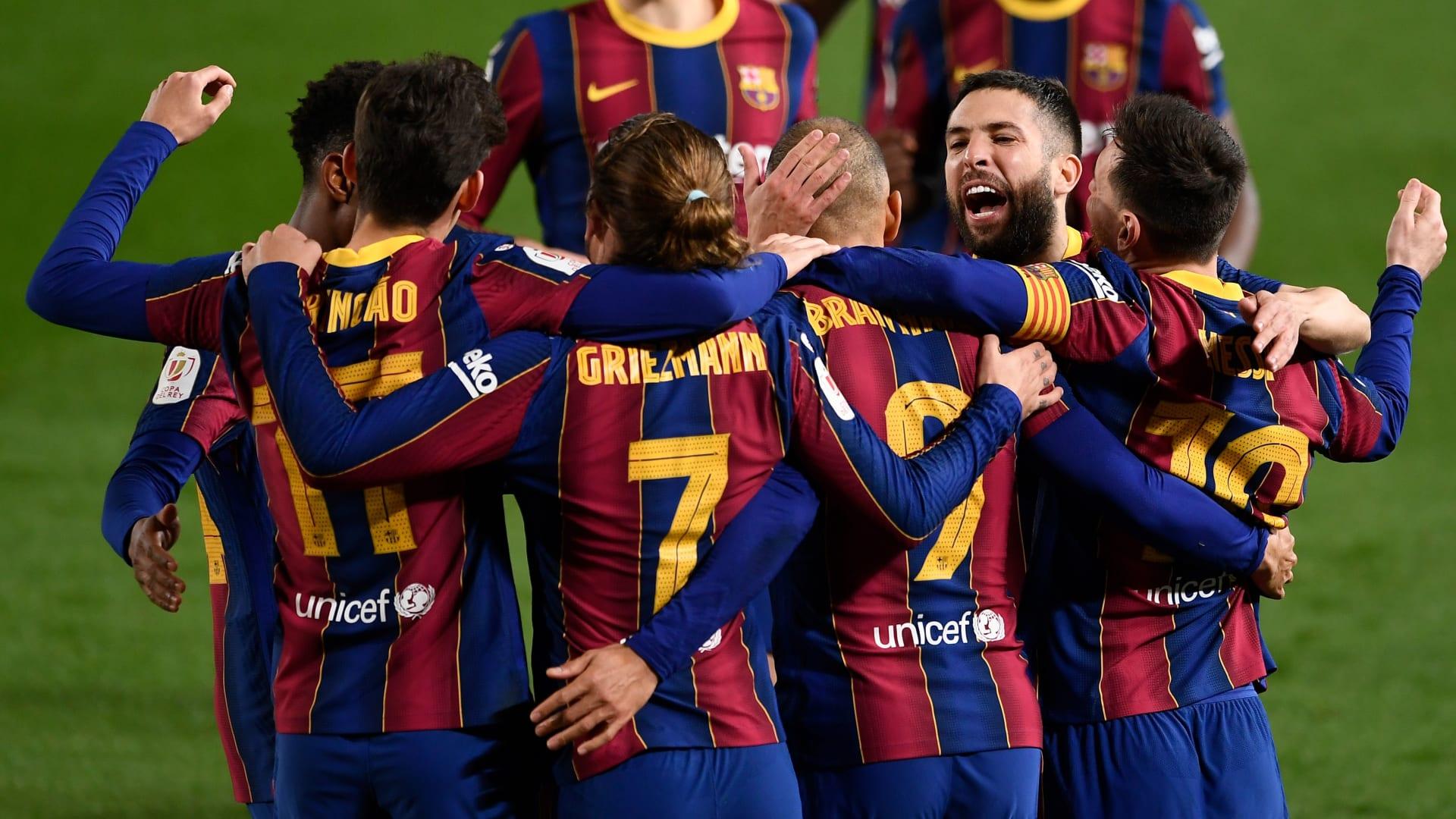 ريمونتادا تاريخية لبرشلونة تؤهله لنهائي كأس إسبانيا