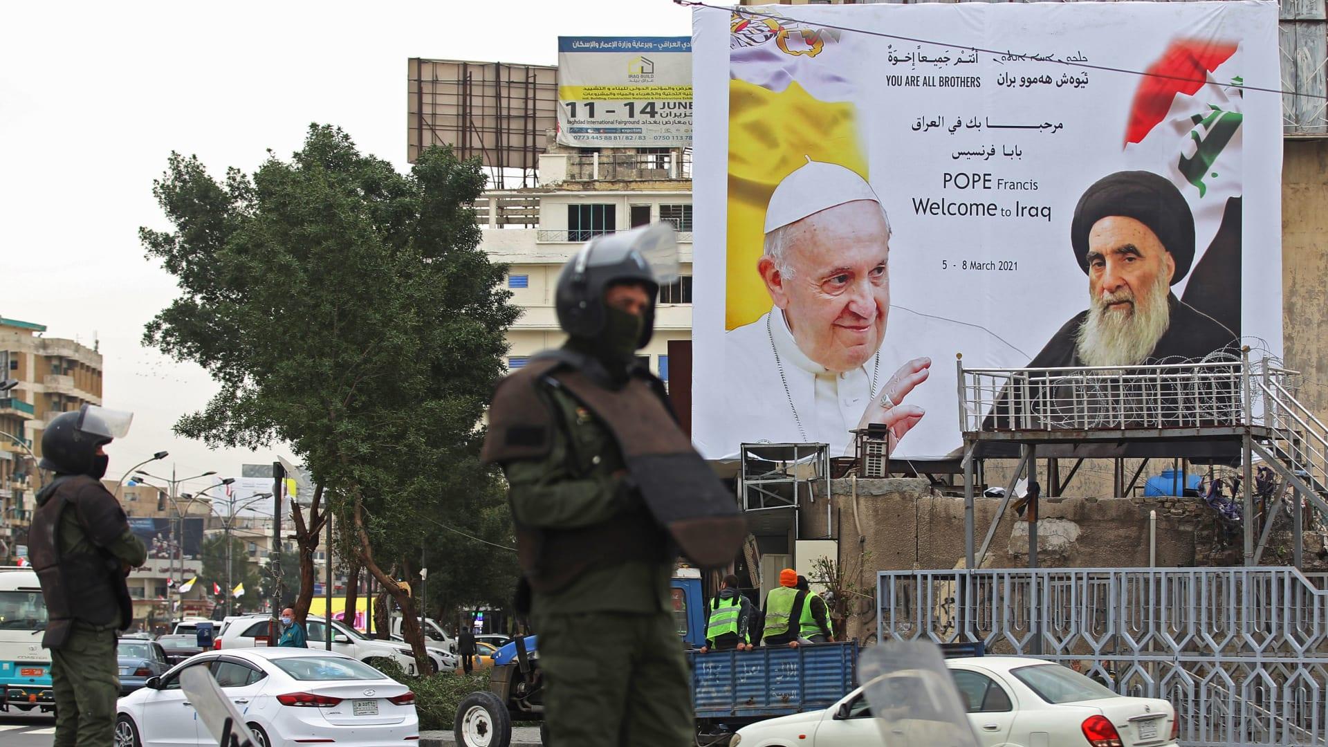 رئيس وزراء العراق يعلن 6 مارس يومًا وطنيًا للتسامح والتعايش بعد لقاء البابا والسيستاني
