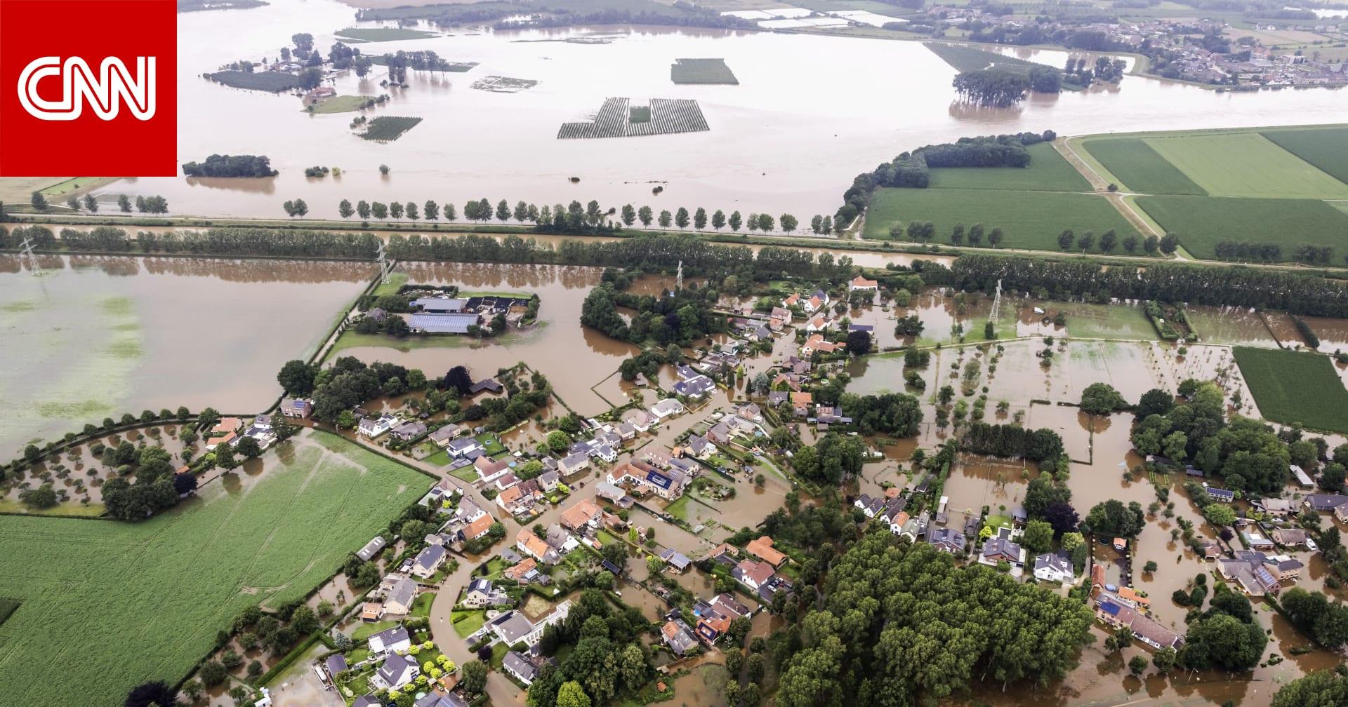 فيضانات أوروبا: ارتفاع حصيلة الضحايا إلى 160 منهم 27 في بلجيكا