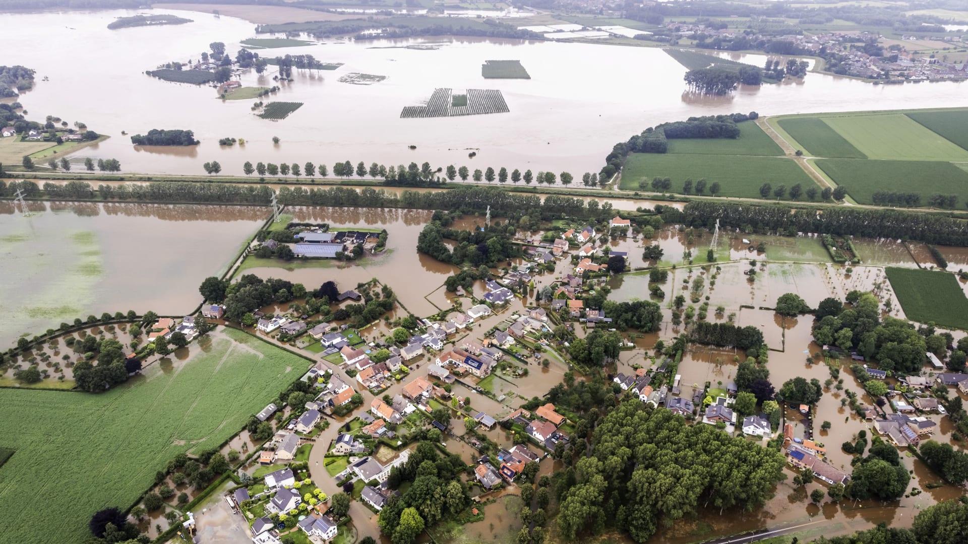 فيضانات بلجيكا