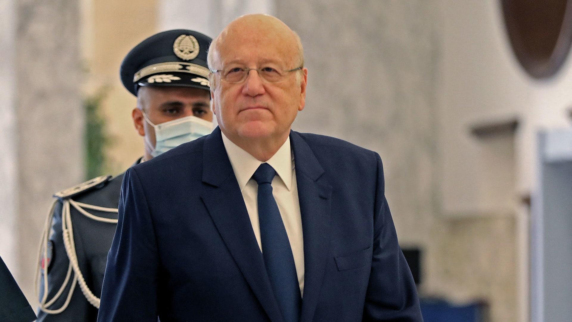 رئيس الوزراء اللبناني المُكلّف، نجيب ميقاتي