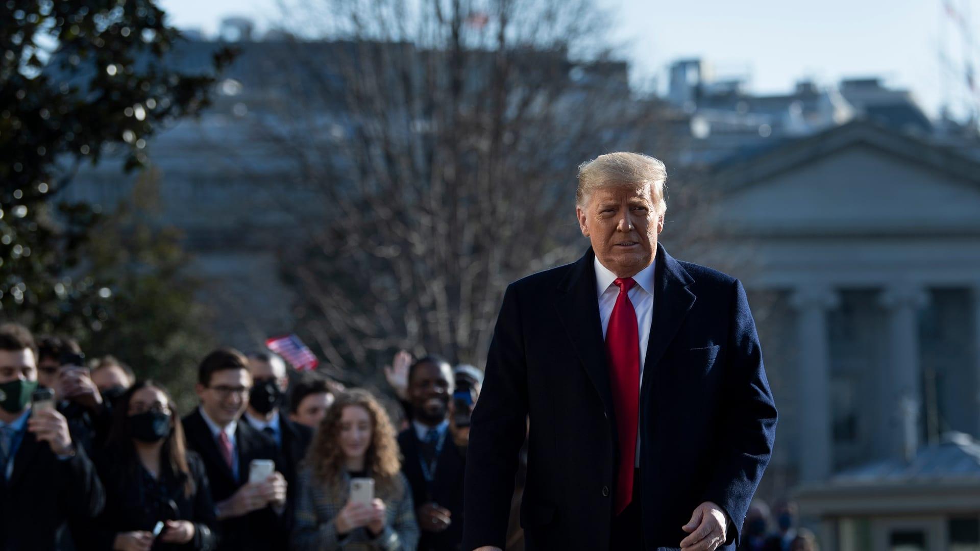 مجلس النواب يصوت لصالح عزل ترامب ليصبح أول رئيس أمريكي تجري مساءلته مرتين