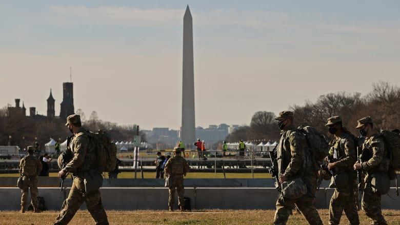 تنصيب بايدن: البنتاغون يعزز تدابيره.. وFBI يعلن 200 مشتبه به في اقتحام الكونغرس