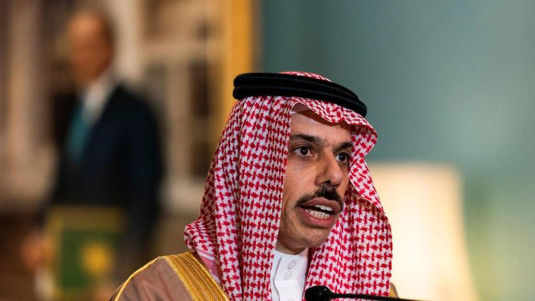 وزير الخارجية السعودي يتلقى اتصالا هاتفيًا من نظيره الأمريكي