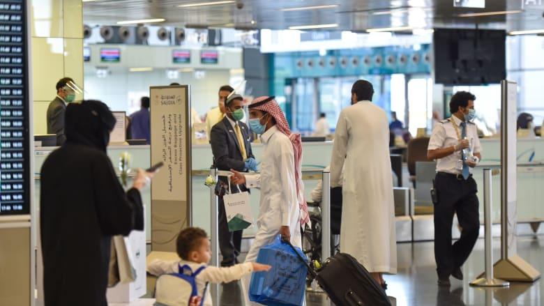 مطار الملك فهد الدولي في العاصمة الرياض - صورة أرشيفية