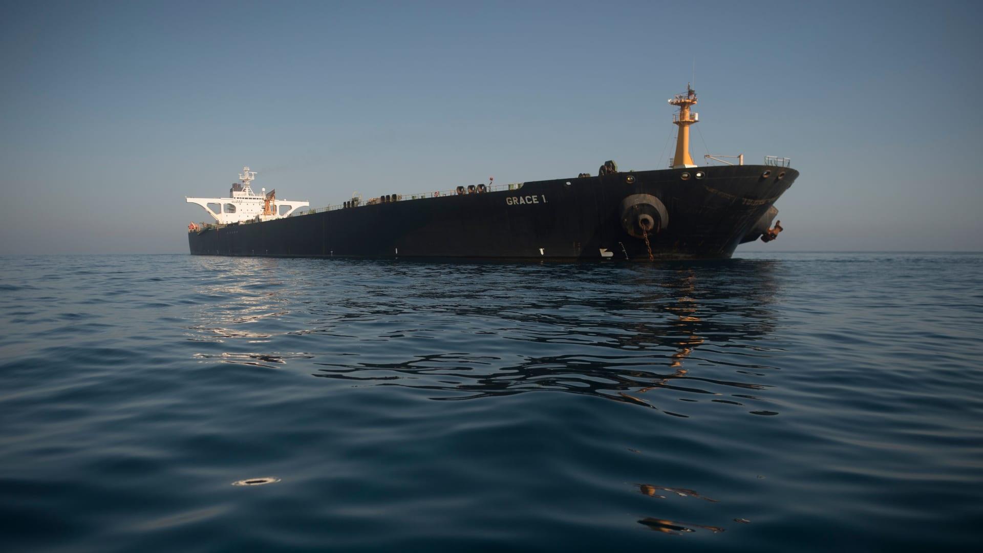 ناقلة نفط غريس 1 الإيرانية - صورة أرشيفية